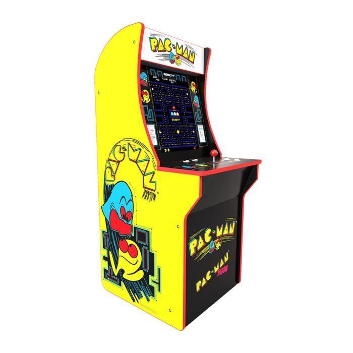 Borne d'arcade 80's Pacman à louer