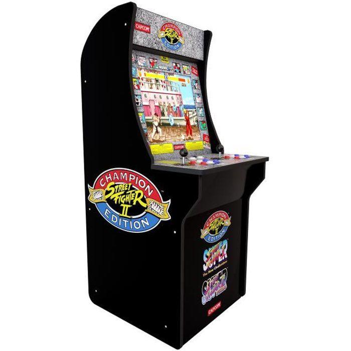 Borne d'arcade 80's Street Fighter II à louer